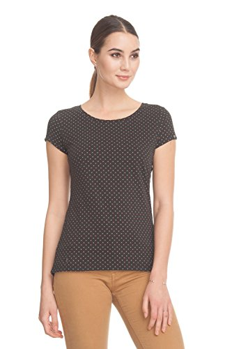 Ragwear Mint Dots Top Black