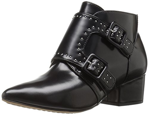 French ConnectionRoree - Stivali bassi con imbottitura leggera Donna , Nero (Nero (Black 001)), 40 EU