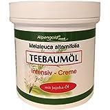 Alwag Teebaumöl Intensiv Creme - 250 ml Hautpflege Creme mit Jojoba-Öl - dermatologisch getestet
