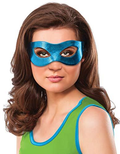 Teenage Mutant Ninja Turtles Leonardo Costume Eye Mask Adult One (Ninja Turtle Adult)