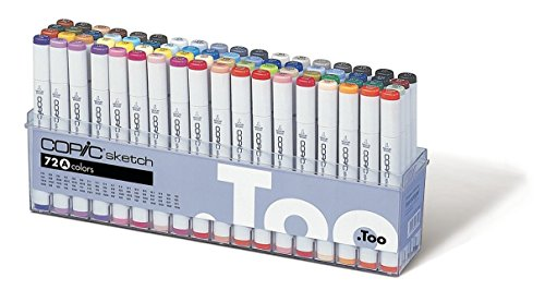 Copic Set A Sketch Marker (paquete de 72)