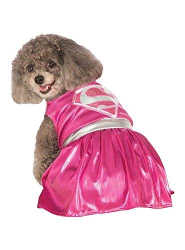 Supergirl-Kostüm für Hund