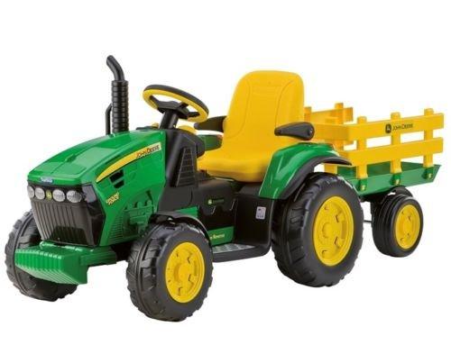 Oferta Tractor Niños Eléctrico 12V completo de remolque Ground Force 3+