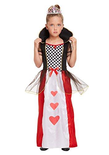 Kinder-Kostüm Herzkönigin aus Alice im Wunderland (Alice-kostüme Kinder Für)