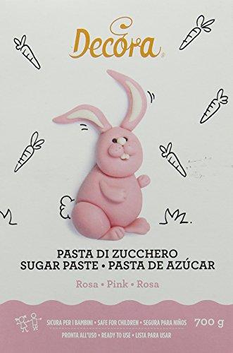 Decora Pasta di Zucchero, Rosa - 700 g