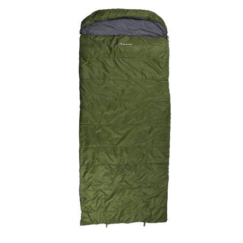 10T Schlafsack KENAI -21° warm weich 2650g leicht XXL Deckenschlafsack 235x100 Grün