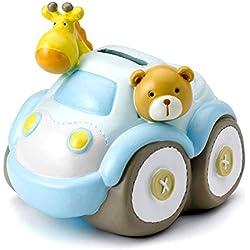 Mousehouse Gifts - Hucha infantil con forma de coche de Safari - Unisex