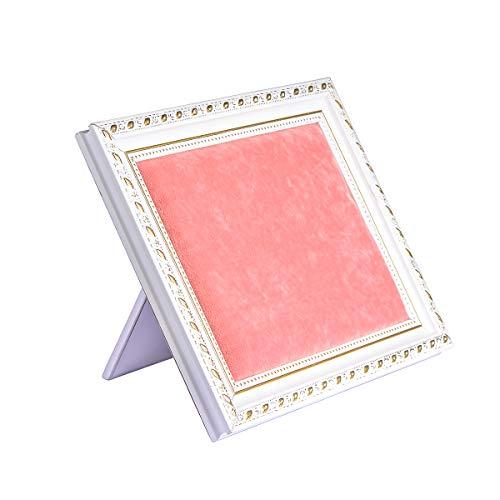 KY Jewelry Expositor de joyería Vertical/Horizontal Versión del Marco de la Foto Pulsera Pendientes Collar Organizador para Mujer Chica Navidad Regalo