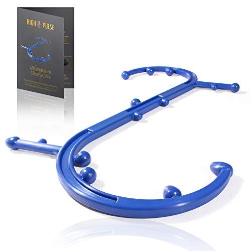 High Pulse Massagehaken - Für eine effektive Rückenmassage und Triggerpunktbehandlung (Blau)