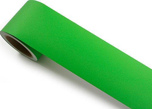 Peel-stick-border (Peel & Stick Grenze Aufkleber Phoenix massiv grün Kontakt Papier selbstklebend abnehmbarer Bordüre Rolle SG41(P4804-6): 10cm von 1,64Feet)