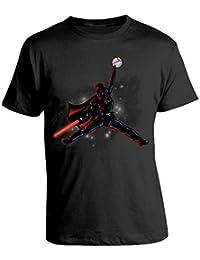 bubbleshirt Tshirt Star Wars - Basket - Humor Star Wars - NBA- - in Cotone 0711a864bbcf