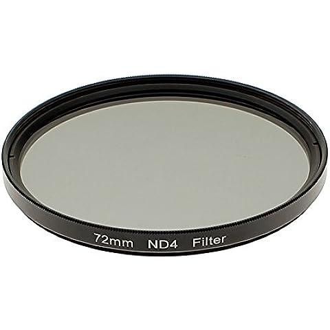 72 MM Filtro de Densidad Neutral ProND4 72 MM Para Canon 5D 7D 70D 760D 1300D para Nikon D7300 D800 D300 D600 D5400 para Sony A77 NEX 5 DSLR Cámaras
