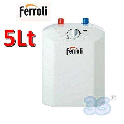 Scalda acqua elettrico 5 Lt scaldabagno sottolavello - Ferroli NOVO