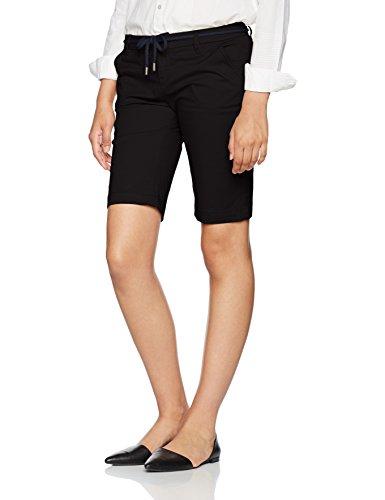 ONLY Damen Shorts Onlparis L Long Chi Belt Shorts Pnt Noos Schwarz (Black)