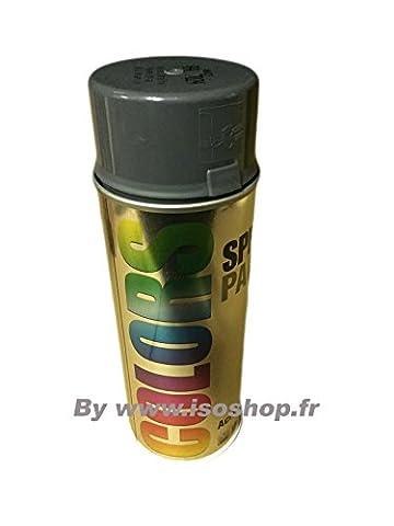Dupli Peinture aérosol Teinte Couleur Gris graphite RAL 7024 Spray