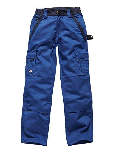 Größe 52 Dickies Hose (Dickies Industry300 Hosen Arbeitshose Service Industrie, Farbe:kornblau/marine;Größe:52)