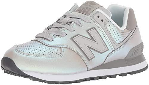 New balance 574v2, scarpa da tennis donna, avorio (rain cloud/marblehead ksc), 37.5 eu