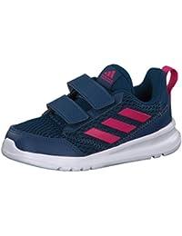 adidas Performance Kleinkinder Kinder Sport Schuh AltaRun CF I schwarz blau grün | eBay