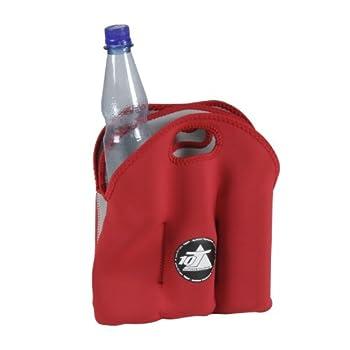 10t Outdoor Equipment 10t Cooler 6 X 500ml Neopren Dosenkühler Flaschenkühler Kühler Getränkekühler Kühltasche Mit Tragegriff 7
