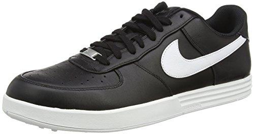Nike Lunar Force 1 G, Scarpe da Golf Uomo, Nero (Black/White), 45 EU