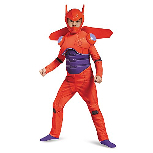 Disney Big Hero 6 Red Baymax Deluxe Child Costume Small (Kostüm Kind Baymax)