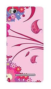 SWAG my CASE PRINTED BACK COVER FOR XIAOMI MI4I Multicolor