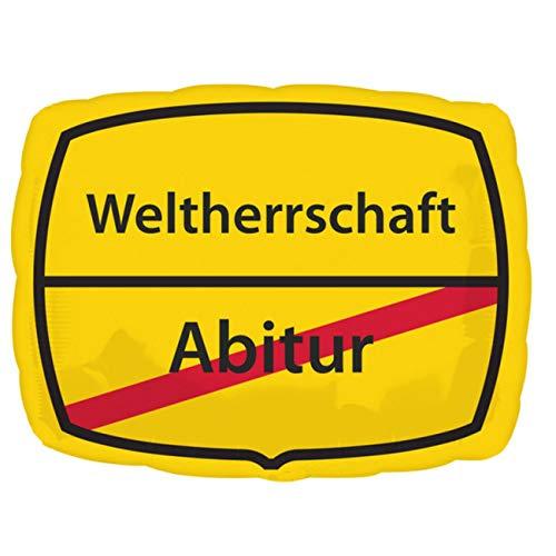 nballon Junior Shape Abitur-Weltherrschaft, Mehrfarbig ()