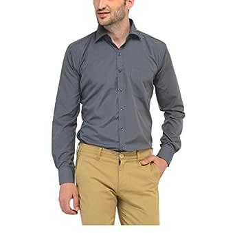 Jay & u Men's Cotton Formal Shirt