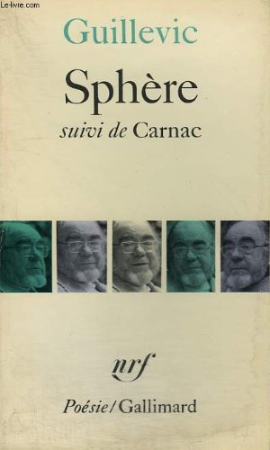Sphere Suivi De Carnac Collection Poesie [Pdf/ePub] eBook