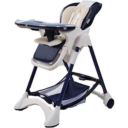 Yxxhm- sedia da pranzo per bambini portatile europeo sedia da pranzo per bambini pieghevole multifunzionale