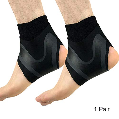 7d91016fd39a Ohwens Ankle Brace Compression Sleeve,Ankle Sleeve Brace,Adjustable Elastic  Ankle Sleeve Brace Foot