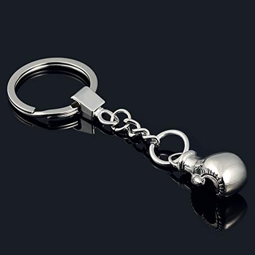 TUDUDU Cool Cute Boxing Handschuhe Schlüssel-Kette Bag Pendant Key Ring Sport Key Chain Fist Keychain Boxer Golvers Keychain P3 Coole Handschuhe