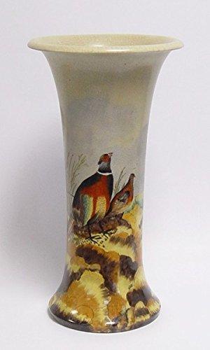 Decobay.eu Porzellan Blumenvase Porzellangefäß Vase HxB 36x 19 cm
