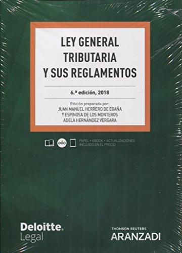 Ley general tributaria y sus reglamentos (Código Profesional) por Adela Hernández Vergara