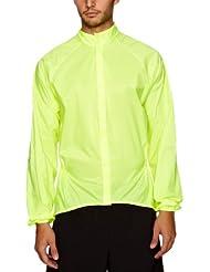 Nalini Kea Nalini Kea - Chaqueta de ciclismo para hombre, tamaño S, color amarillo
