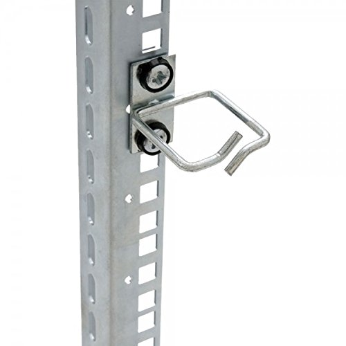 Preisvergleich Produktbild TRITON RAX-D1-X44-X3 48,26 cm (19 Zoll) Kabelbügel D1, 40 x 40 mm, (RAL 7035) schwarz