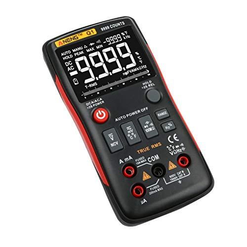 Aiming Aneng Q1 Digital-Multimeter LCD Display AC-DC-Spannung Strom Widerstand Temperatur Tester Dioden Continuity-Detektor
