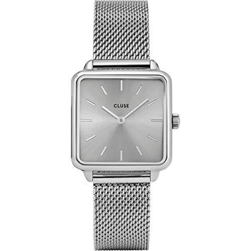 Cluse Damen Analog Quarz Uhr mit Edelstahl Armband CL60012