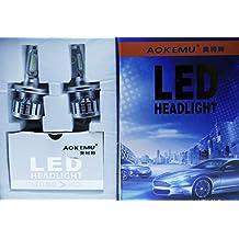 KIT LED H4 P43t 9-32V COMPATIBLE 3000 + 3000 LM MOTO COCHE CAMION LUCES