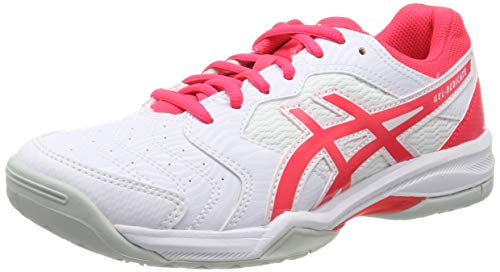 ASICS Gel-Dedicate 6, Scarpe da Tennis Donna, Multicolore (White/Laser Pink 102), 38 EU
