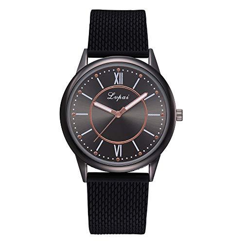 Damen-Uhren Frauen Mädchen Schöne Mode Design Casual Quarz Silikonband Band Uhr Analog Armbanduhr Silikon Sport Watch Geschenke Für Frauen