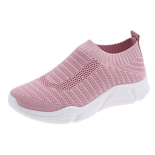 Kolylong® Damen Sneaker Atmungsaktive Tennisschuhe Sportschuhe Weiche Damenschuhe Jogging Fitness Schuhe Krankenschwester Schuhe 35-40