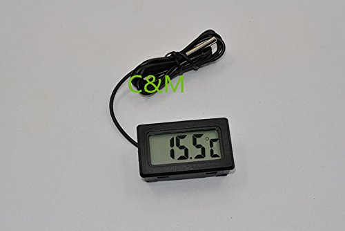 Tocoss(TM) Neue Professinal Mini Digital LCD Thermometer-Temperatur-Sensor Fridge Freezer Thermometer Whosale