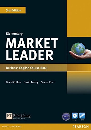 Market Leader 3rd Edition Elementary Coursebook & DVD-ROM Pack