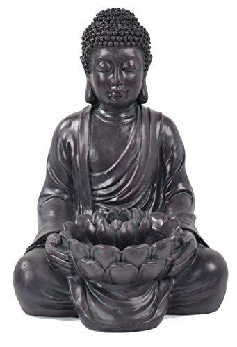 ACTIVA Buddha Brunnen Tantra Ca 50 Cm Gartendeko Indoor Outdoor Wasserspiel