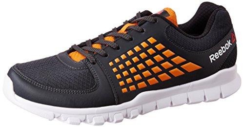 Reebok Men's Electrify Speed Gravel, Nacho, Back and Wht Running Shoes - 10 UK/India (44.5 EU) (11 US)