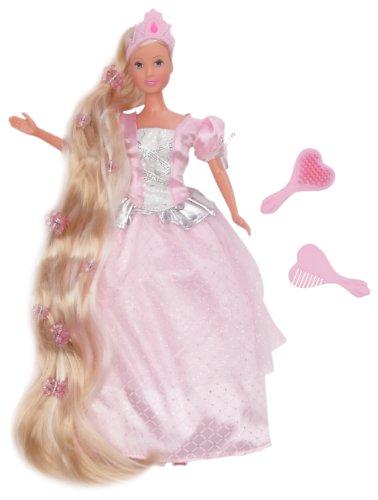 Simba 105738831 - Steffi Love Puppe als Rapunzel mit extra langem Haar, 3-sort.
