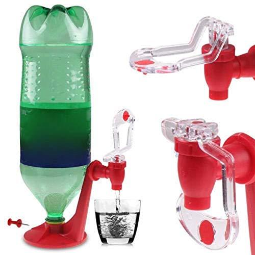BAAQII Auf den Kopf stehender Dispenser Cola Softdrink-Getränkeflaschen-Gadget-Öffner-Schalter