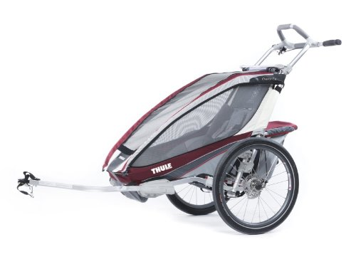 Thule Cx1 Multi-Anhänger für Kinder (Radfahren, Jogging, Burgunderrot