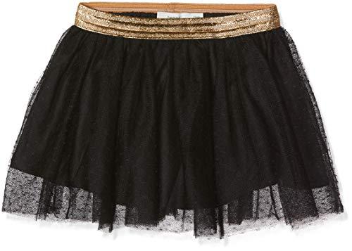 NAME IT Baby-Mädchen Rock NKFTULLU Tulle Skirt NOOS, Schwarz Black, 92